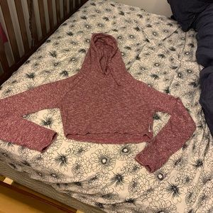 Gymshark Slounge cropped hoodie